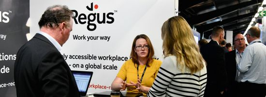 Regus Workplace Recovery team at New Zealand's ITx Rutherford conference